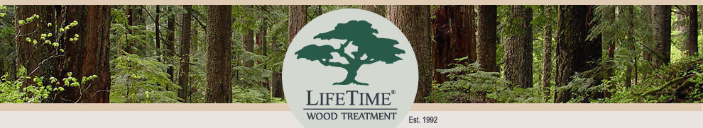 LifeTime® Wood Treatment Non-Toxic Wood Stain
